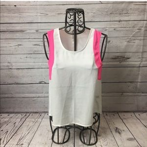 Tobi Color Block Tank Top